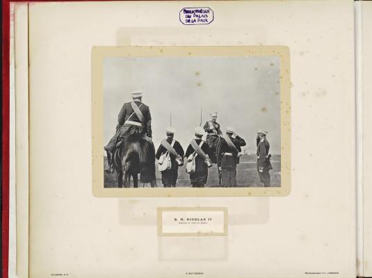 Conférence de la Paix 1899, copy of H.E.Mr. Jonkheer J.C.N. Van Eys_006 - H.M. Nicolas II