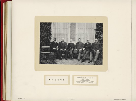 Conférence de la Paix 1899, copy of H.E.Mr. Jonkheer J.C.N. Van Eys_020 - America (United States of)