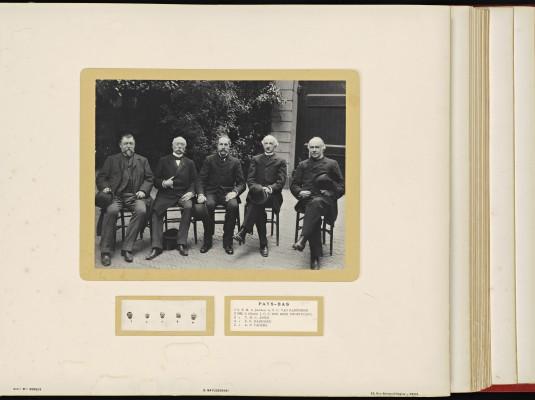Conférence de la Paix 1899, copy of H.E.Mr. Jonkheer J.C.N. Van Eys_035 - Netherlands