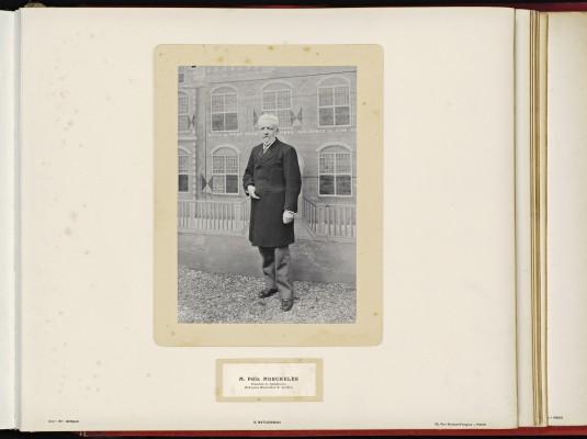 Conférence de la Paix 1899, copy of H.E.Mr. Jonkheer J.C.N. Van Eys_071 - Mr. Félix Moscheles