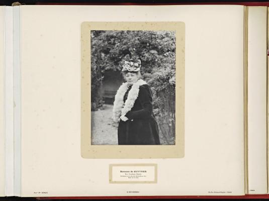 Conférence de la Paix 1899, copy of H.E.Mr. Jonkheer J.C.N. Van Eys_077 - Baronness Bertha von Suttner