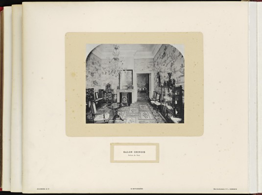 Conférence de la Paix 1899, copy of H.E.Mr. Jonkheer J.C.N. Van Eys_086 - Chinese Room Huis Ten Bosch