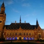 Peace Palace by Night