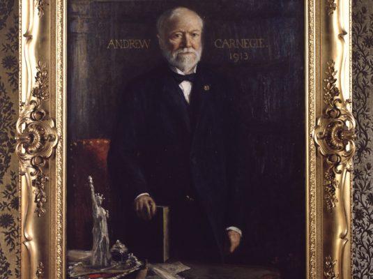 Andrew Carnegie_ Schilderij Blommers